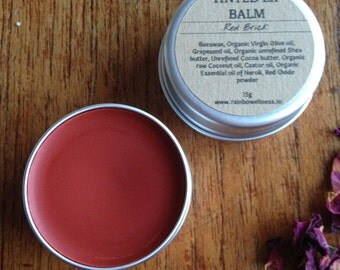 Brick Red - Tinted Lip Balm