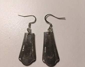 Silverplate Spoon Earrings