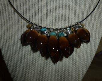 Acorn Necklace #300