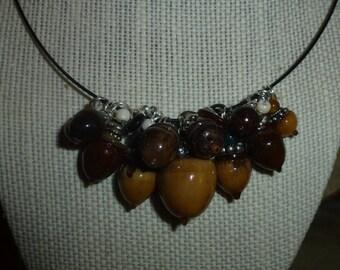 Acorn Necklace #306