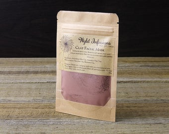 Clay Mask / Facial Mask / Australian Clay / Bentonite Clay / Mediterranean Clay