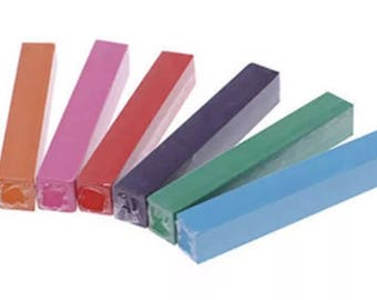 Temporary Hair Chalk 6pc Set   N2