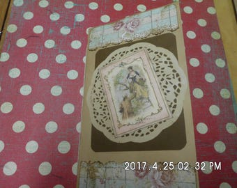 Lady's traveler notebook  junk journal ..great for mothers day gift