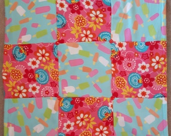 Lap Quilt, Warmth, Childrens Room, Comfort, Lolly Ice, Flowers