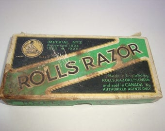 Vintage Rolls Razor Model Imperial No.2 Made In England
