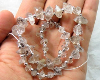 1 Strand Herkimer Diamond ,Quartz Double Terminated, Crystal ,Size===10x7x7mmto 15x10x9mm