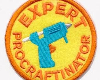 Crafting Merit Badges - Patch -  Expert Procraftinator