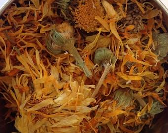 Certified Organic Dried Calendula Flower Food grade Herbal Tea
