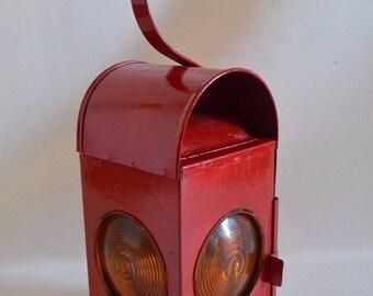 Old Vintage Paraffin oil Train Light