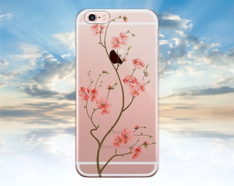 iPhone 7 Case Clear Floral iPhone 6 Case Clear iPhone 6S Case Clear iPhone SE Case Clear iPhone 6S Plus Case Clear LG G4 case Floral