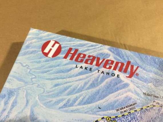 HEAVENLY TRAIL MAP - Gallery Wrapped Canvas Giclee