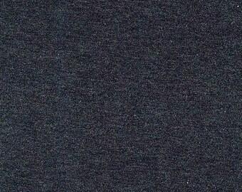 Charcoal Cotton Spandex Jersey Knit fabric 12oz