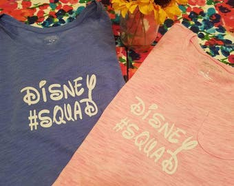 Themed bridesmaids shirts! Can be customized to your liking and font
