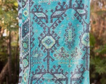 Fresco Towels - Aztec Blue - Bath Towel