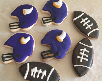 Minnesota Vikings cookies