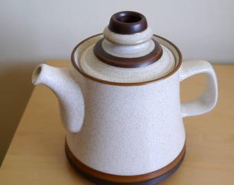 "Fab Denby ""Potter's Wheel"" teapot (B4)"