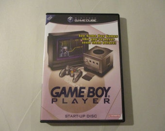 Game Boy Player Start-Up Disc Custom GameCube Case Only (NO Start-Up Disc)