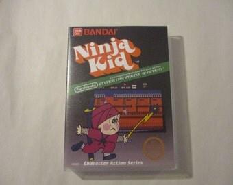 Ninja Kid Custom NES - Nintendo Case (NO GAME)