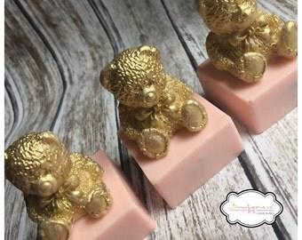 3D Bear Fondant Soap Chocolate Mold