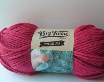 BIG TWIST Premium 'Berry Tones' Yarn