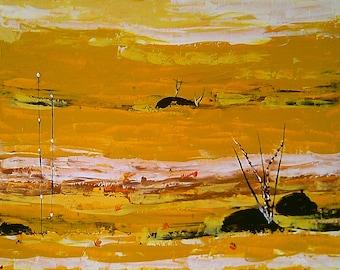 painting signed Khava listed artist Manceau Artprice