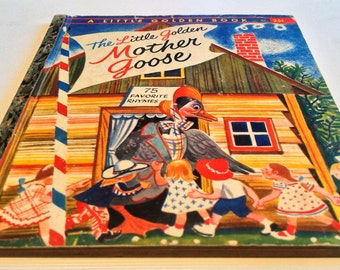 The Little Golden Mother Goose (Book, No. 283 A First Edition) (Hardcover) Illustrated by Feodor Rojankovsky