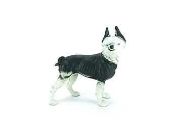 Hubley Door Stop - Antique | Boston Terrier Cast Iron Door Stop || Dog Doorstop | Metal Doorstop | Gift for Her | Gift for Him