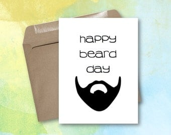 Greeting Card - Happy Beard Day