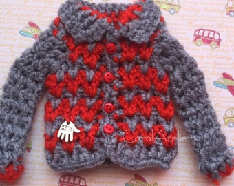 Sweater for blythe and similar
