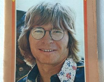 1975 John Denver WINDSONG Album Pictorial Insert