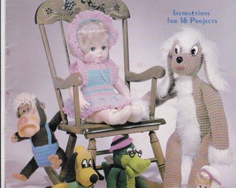 Original Crocheted Playthings 16 Projects for Playthings by Jan Hatfield