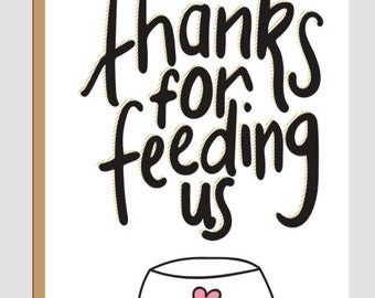 Thanks for feeding us print at home card