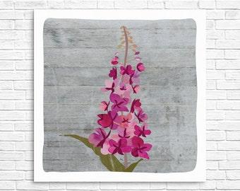 Fireweed Print