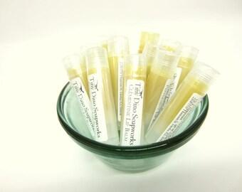 Clementine Lip Balm | Beeswax Lip Balm, Lip Butter, Fruity Lip Balm