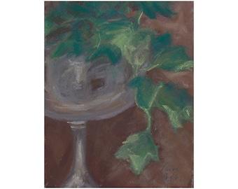 Ivy in a Silver Goblet  - original artwork