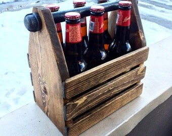 Rustic Beer Caddy