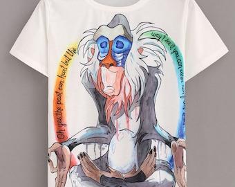 Rafiki Shirt, Boho Clothing, Meditation Clothing, Womens Shirts
