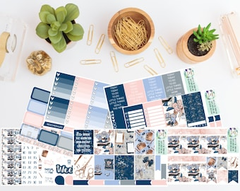 WK22 - She Turned Her Cant's Into Cans And Her Dreams Into Plans Weekly Planner Sticker Kit - Planner Girl - Girl Boss