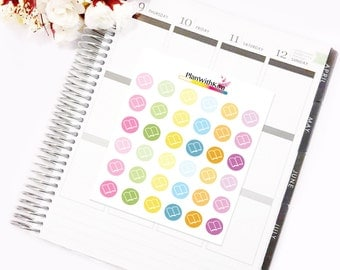 Book/Planner Stickers for Diaries, Life Planners and Notebooks (ECLP)