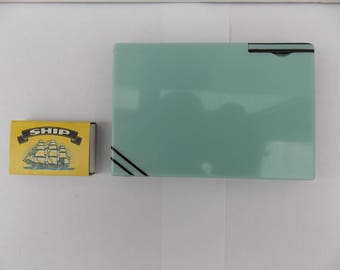 Art Deco Ladies Bakelite Combined Cigarette Case and Lighter