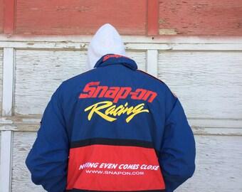 Large Snap On racing jacket