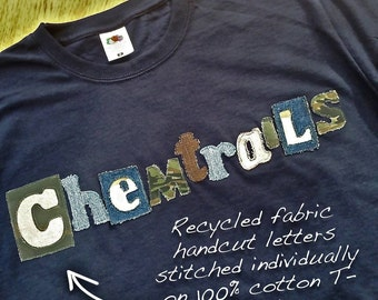 Chemtrails Long Sleeved Tee Shirt Men Women Children