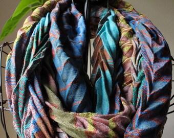 Print circle scarf