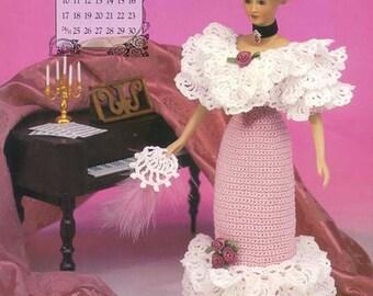 42. Barbie edvardian lady dress-Marc, crochet pattern in pdf