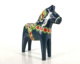 Large blue dala horse free shipping