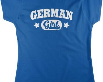 German Girl Women's T-shirt, NOFO_00986