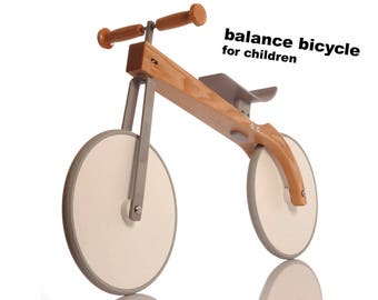 Balance bicycle for children, handmade, design, vehicles for children