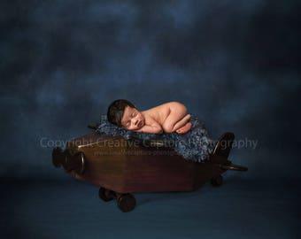 Newborn Digital backdrop / background / plane / blue
