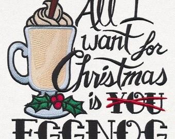 Eggnog - Christmas Towel
