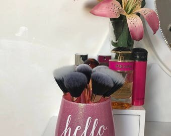 Hello lovely makeup brush holder